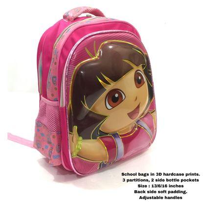 Picture of  3D hardcase school bags