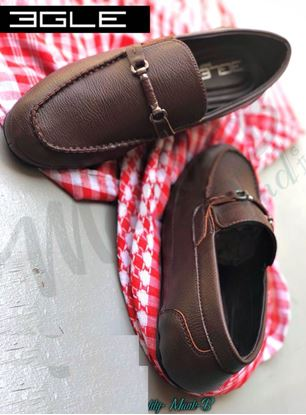 Picture of S.K Mani Men s BGLE LATHER SHOES BROWN 1bdd243d208