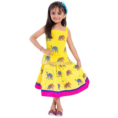 Picture of Beautiful party wear lehga For Baby Girls*