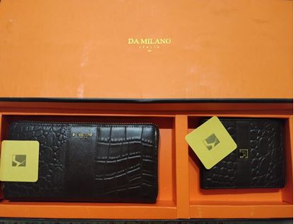 Picture of Da milano Men&Woman Wallet Set